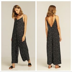 💛 nwt | rue stiic | patterned loose fit jumpsuit